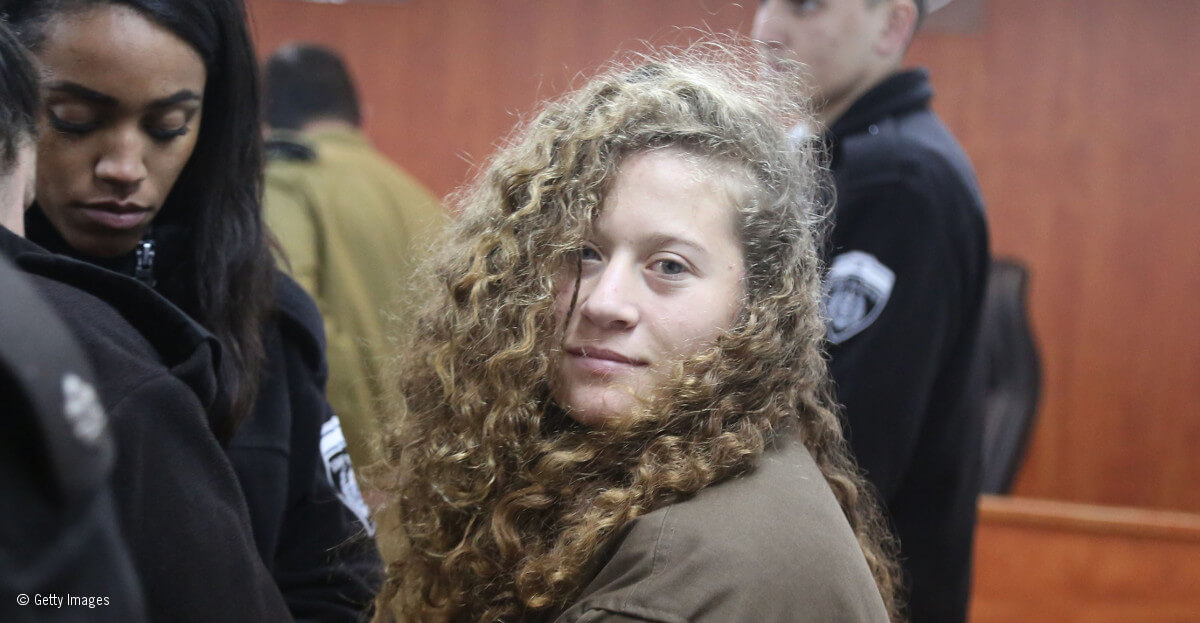 Palestinian teen Ahed Tamimi jailed for eight months