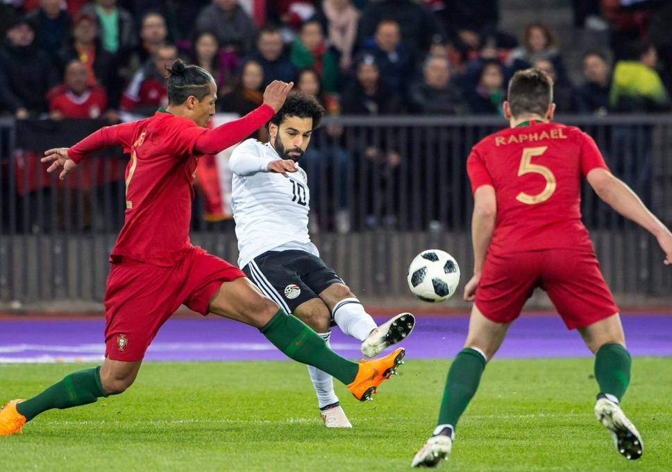 Mohamed Salah Continues Scoring Run With Nice Goal v Portugal