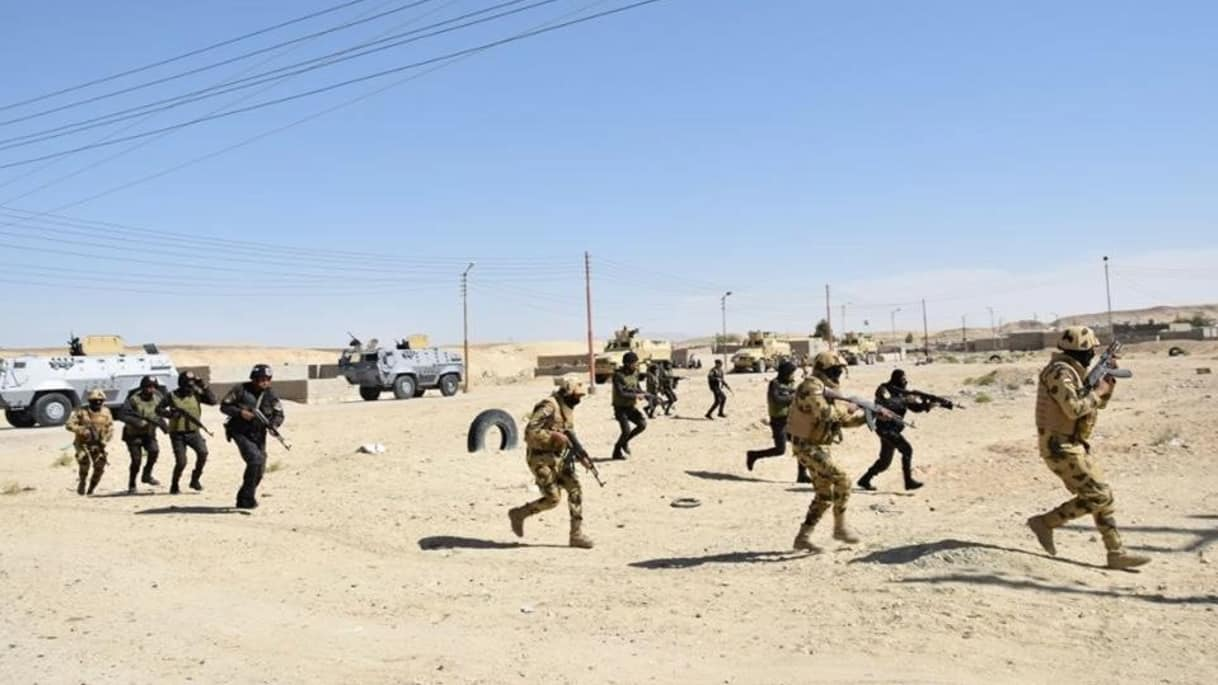 Egyptian forces kill 52 militants in restive Sinai