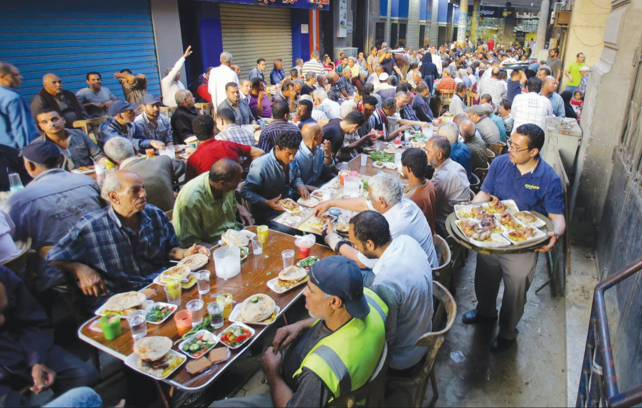 Ramadan A Month Of Fasting Or Food Waste Egyptian Streets