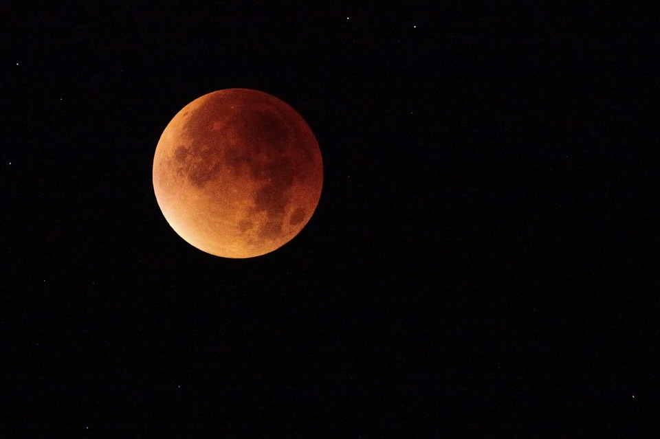 The blood moon: a rare lunar eclipse, in pictures