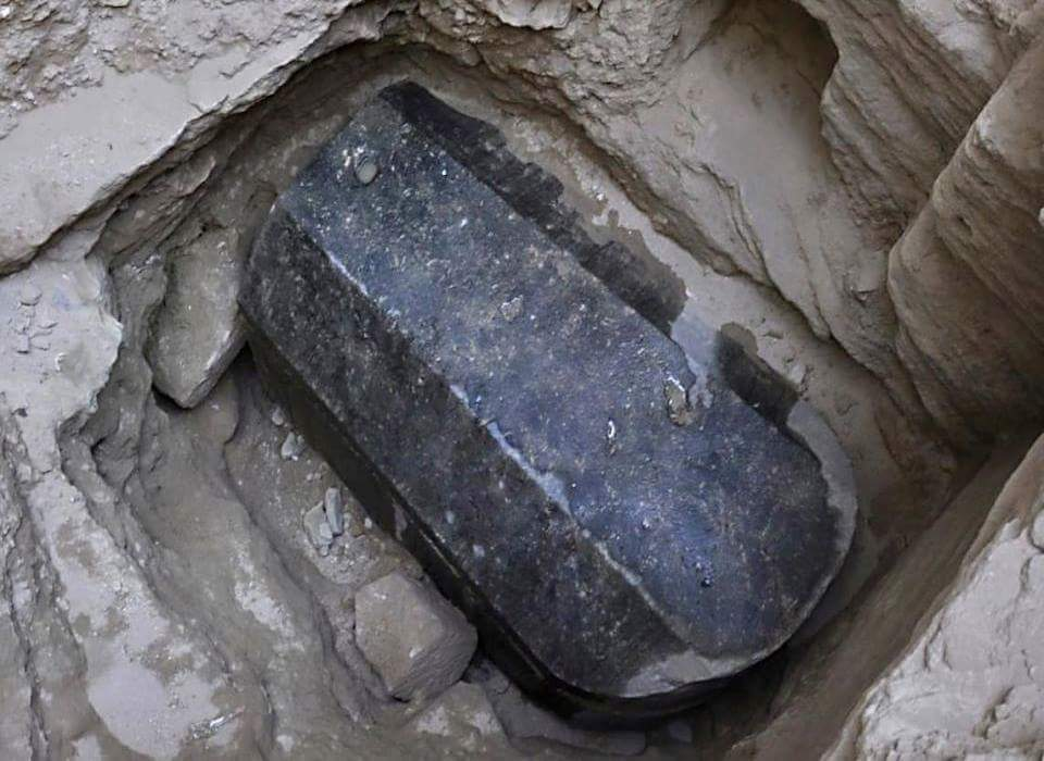 Egyptian archaeologists reveal contents of mysterious giant sarcophagus in Alexandria
