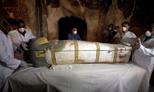 Egypt unveils ancient pharaonic tomb found in Luxor