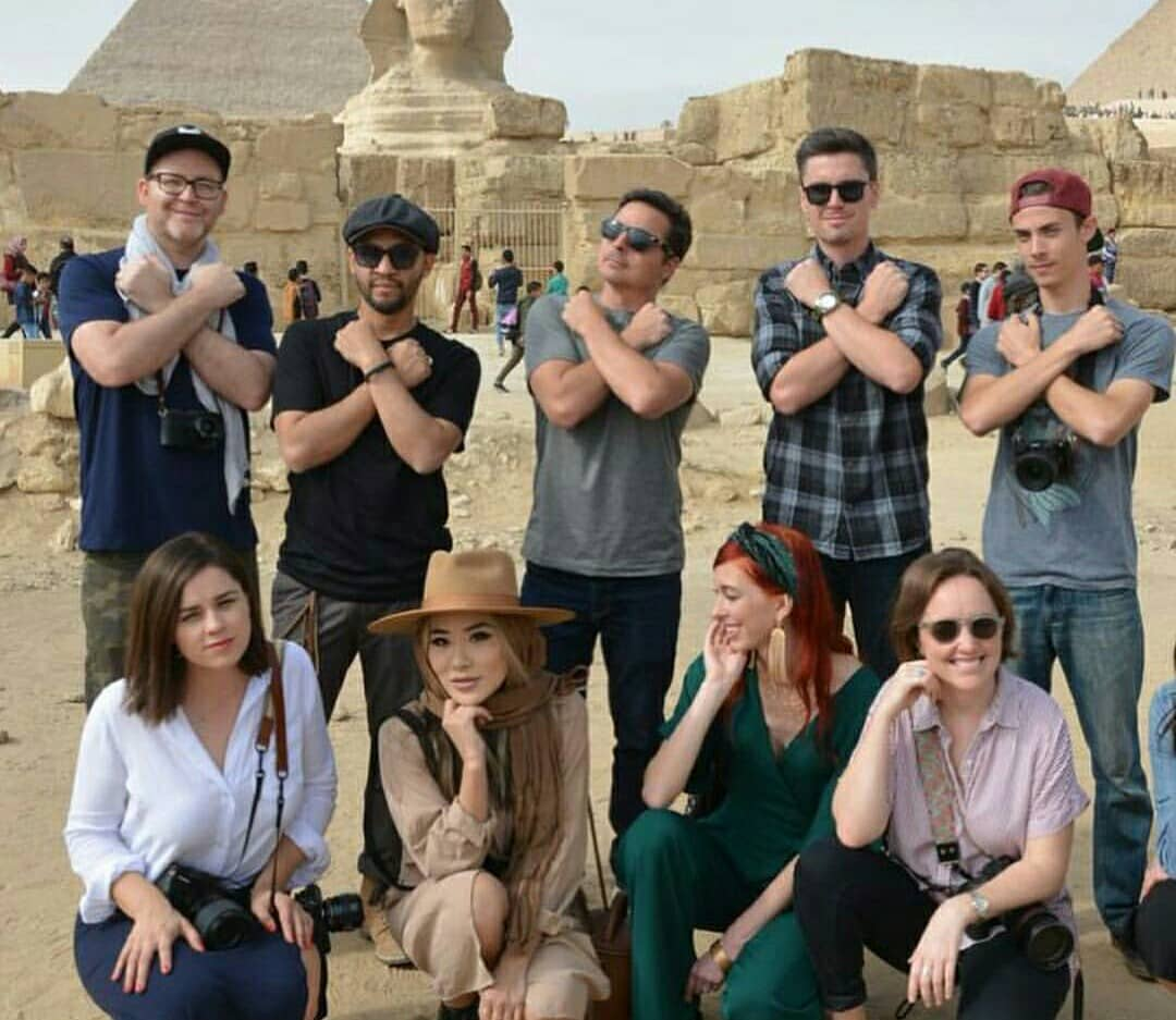 Us Social Media Influencers Praise Security Conditions In Egypt Egyptian Streets