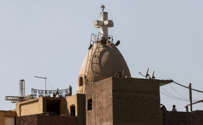 The Coptic Orthodox Church of the Virgin Mary in Cairo's Shubra al Kheima district was the target of a previous attack