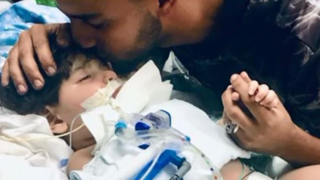 Yemeni mother who fought Trump travel ban says goodbye to son