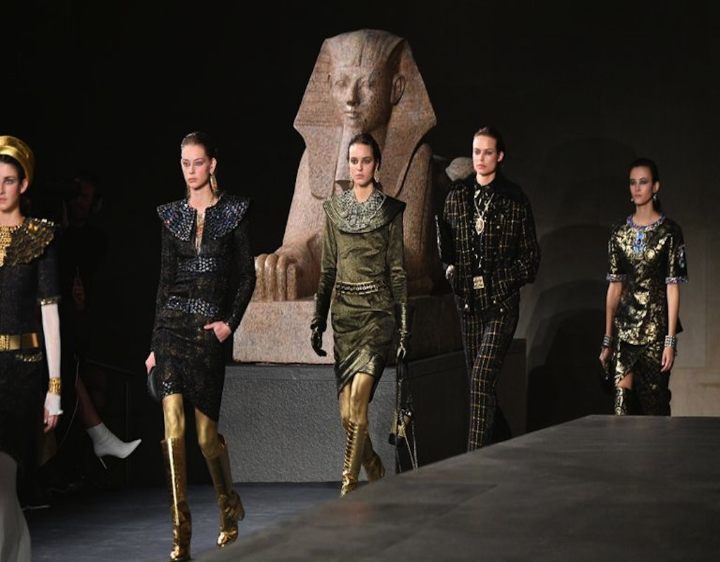 Chanel Turns To Egypt For Inspiration Of Modern Design Egyptian Streets