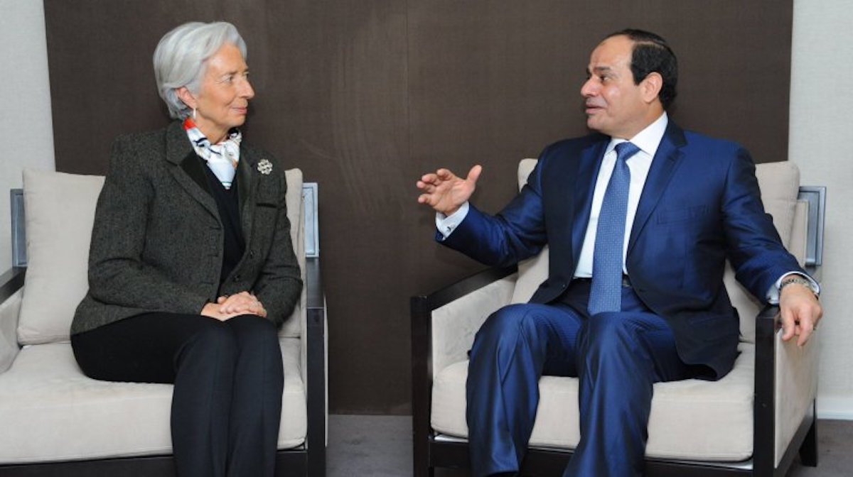 IMF's Christine Lagarde Praises Egypt's 'Ambitious Economic Reform