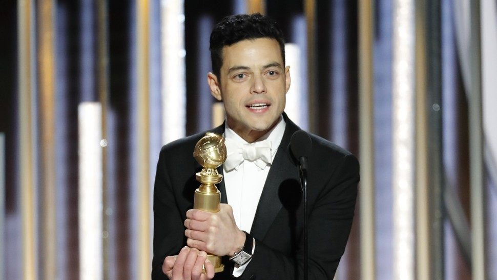 Queen tweets heartwarming Golden Globes post with Rami Malek