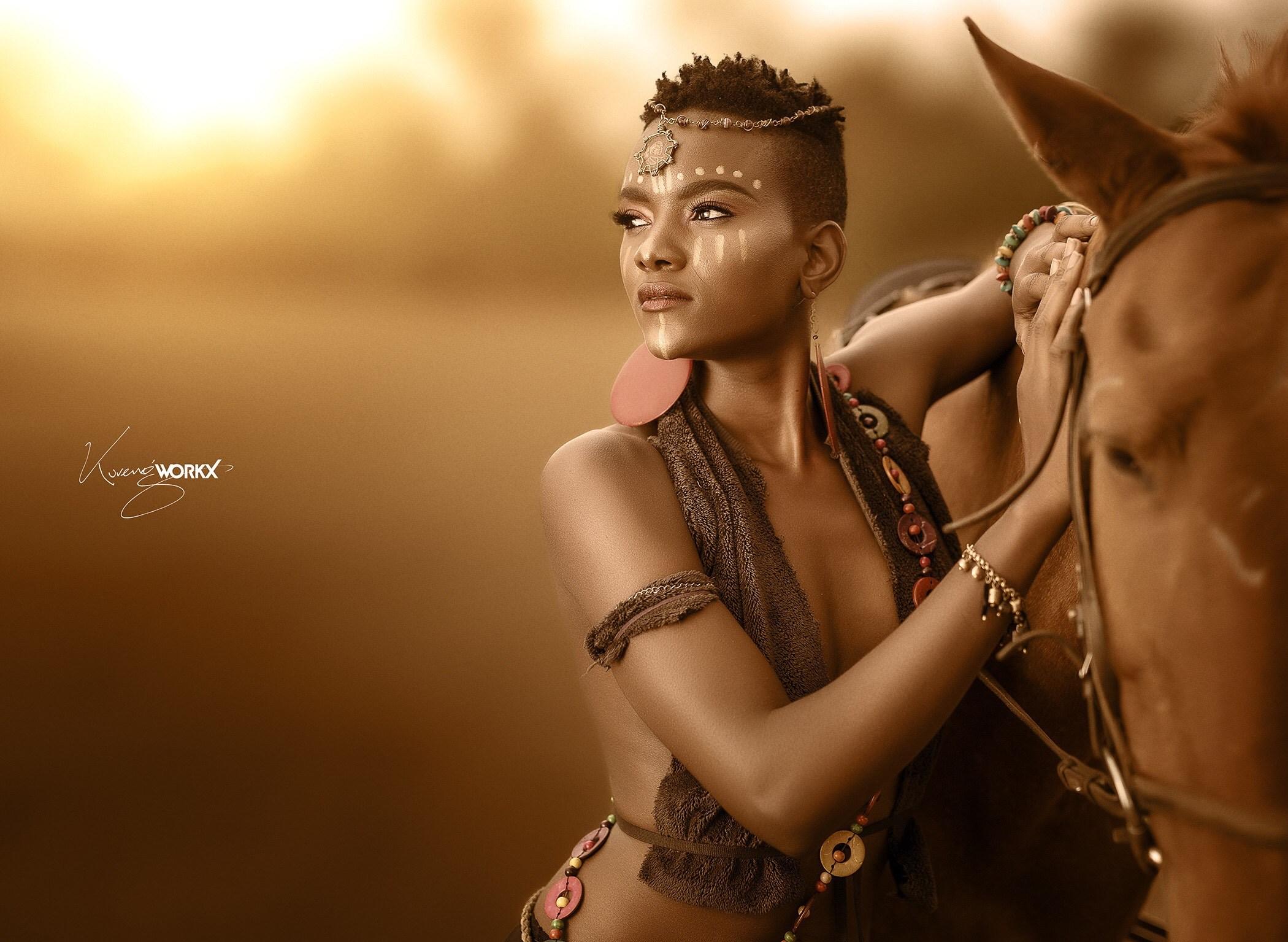 african king kenya menza warrior kenyan wa woman colonialists british allela queen queens visualizes pino legendary tale photographer africa nigeria
