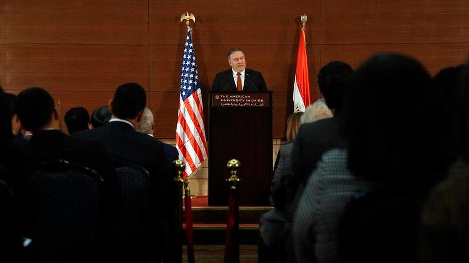 Pompeo says US has no intention to leave Mideast