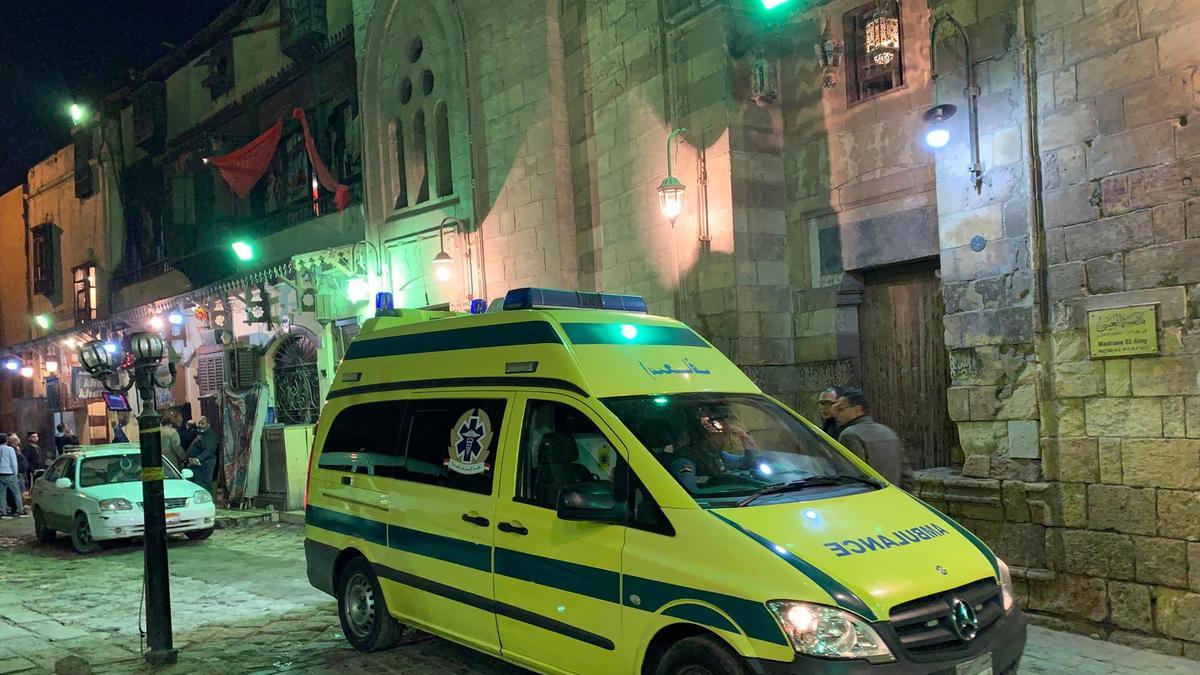 Explosion Behind Al-Azhar Mosque in Cairo
