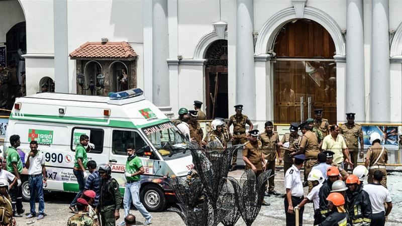 130+ Killed in Eight Explosions Targeting Churches, Hotels in Sri Lanka