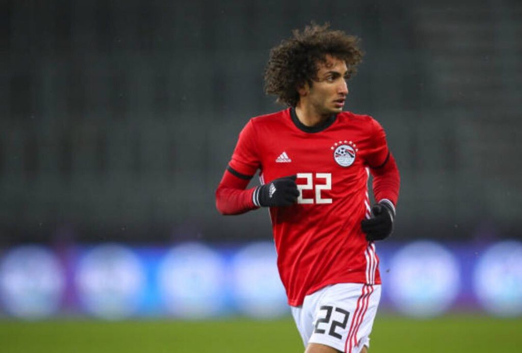Image result for images of Amr Warda in Egyptian jersey