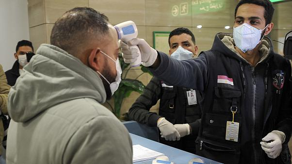 Egypt records first coronavirus case in Africa