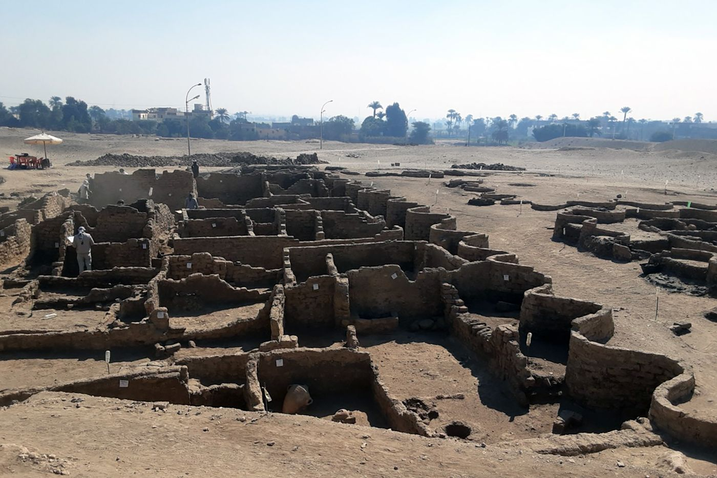 Egypt unveils 3,000-year-old 'lost' city near Luxor