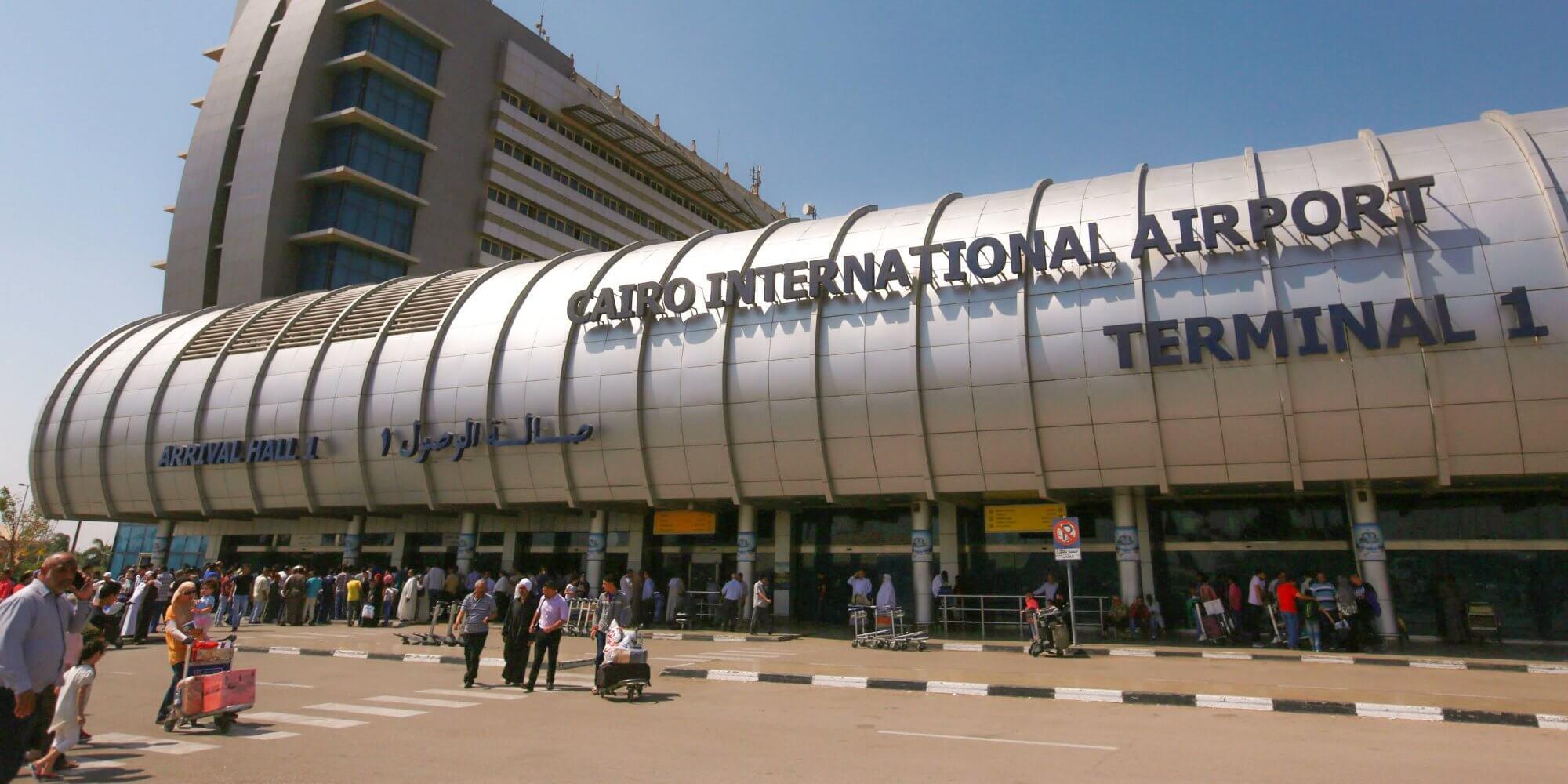 Terminal 1 of Cairo International Airport.